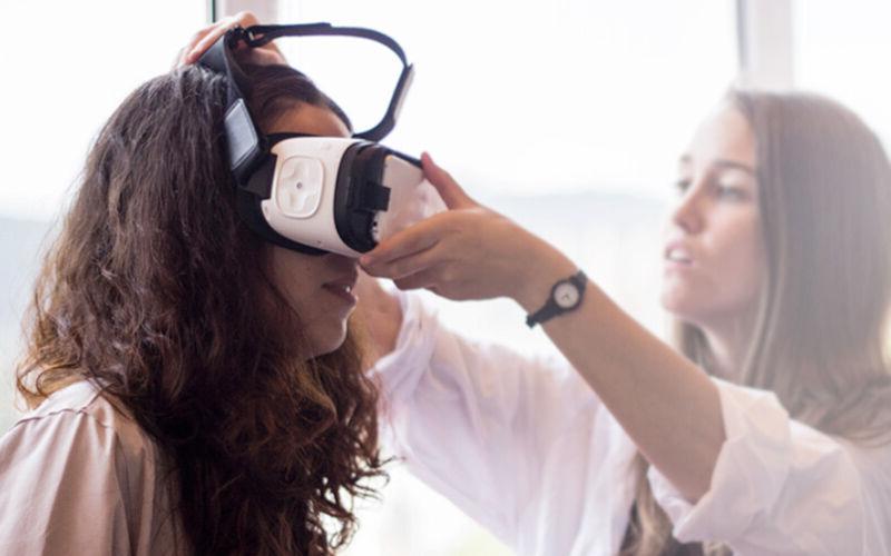realidad virtual mujeres